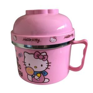 Hello Kitty Thermos for Rice or Noodles New